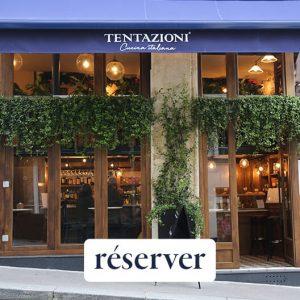 Restaurant Tentazioni Bruant restaurant italien paris